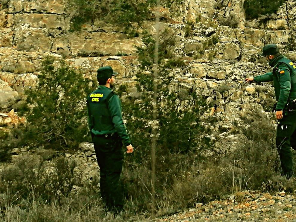 Auxiliados una ganadera herida y a su pareja en Teruel