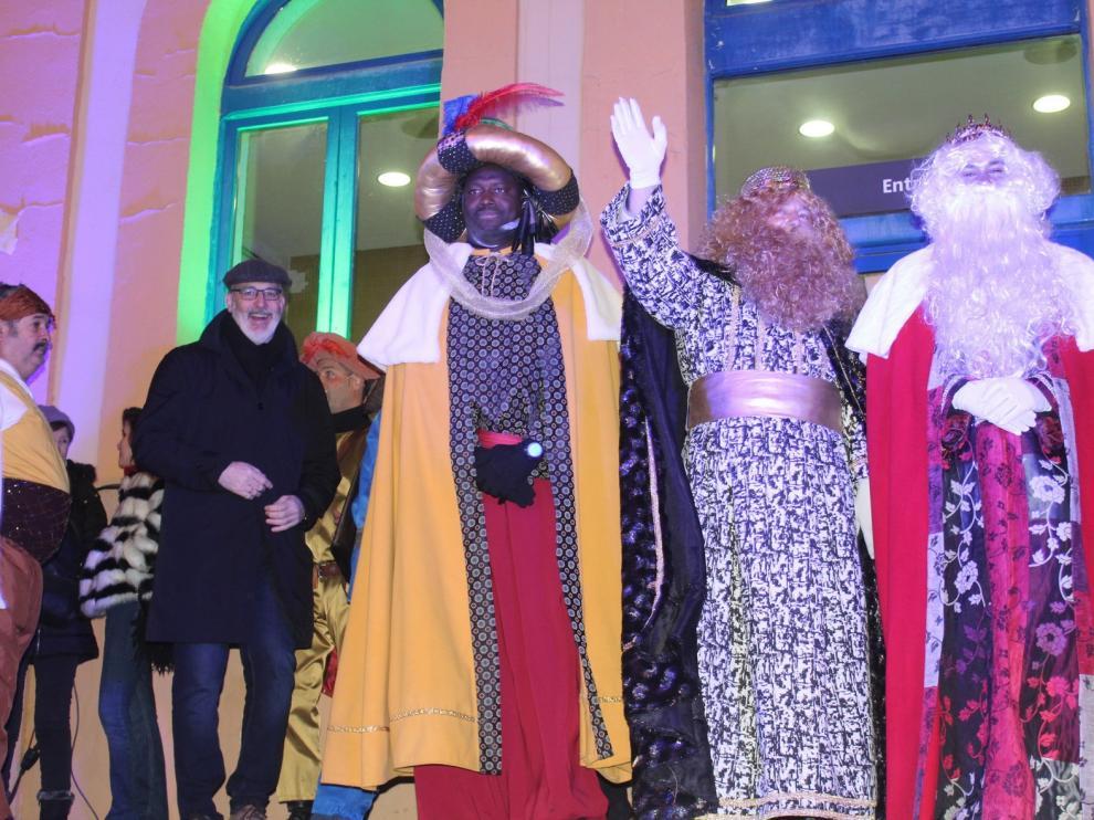 Melchor, Gaspar y Baltasar llevan hoy su magia por el Alto Aragón