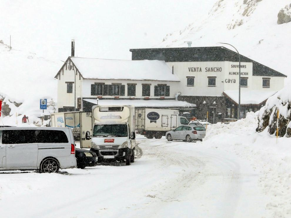 Portalet ha sido el único paso a Francia cortado este invierno