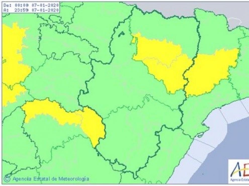 La Aemet mantiene activo el aviso amarillo de niebla en la provincia este martes