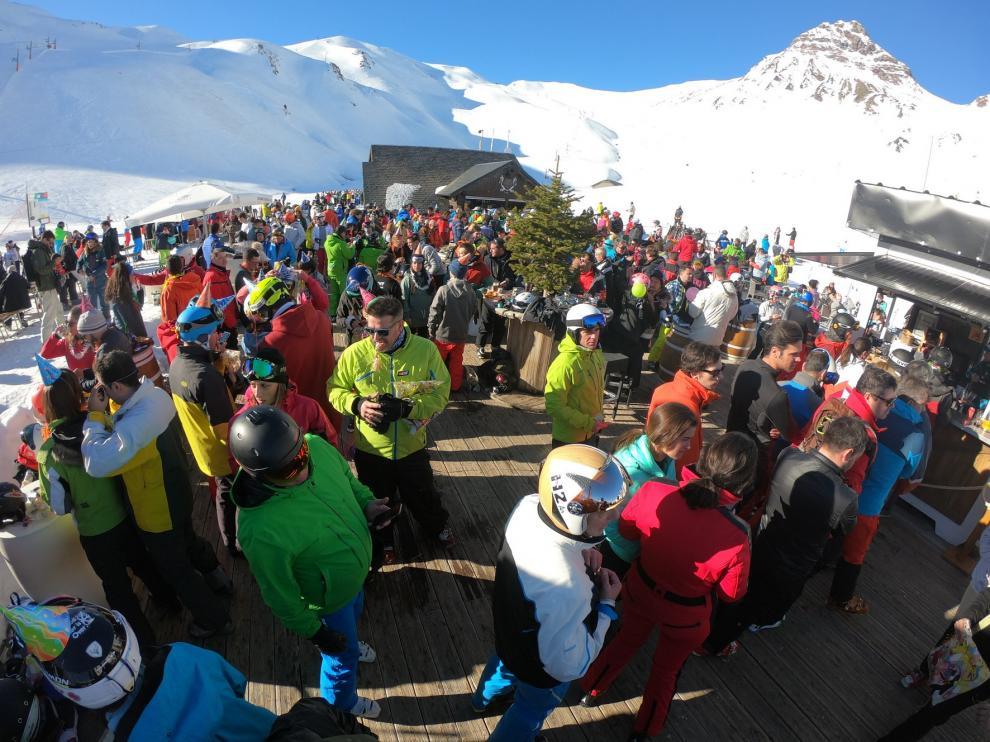 Aramón se anota su segundo mejor inicio de campaña de esquí