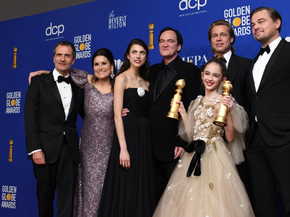 """""""Érase una vez en...Hollywood"""" y """"1917"""" vencen en los Globos de Oro"""