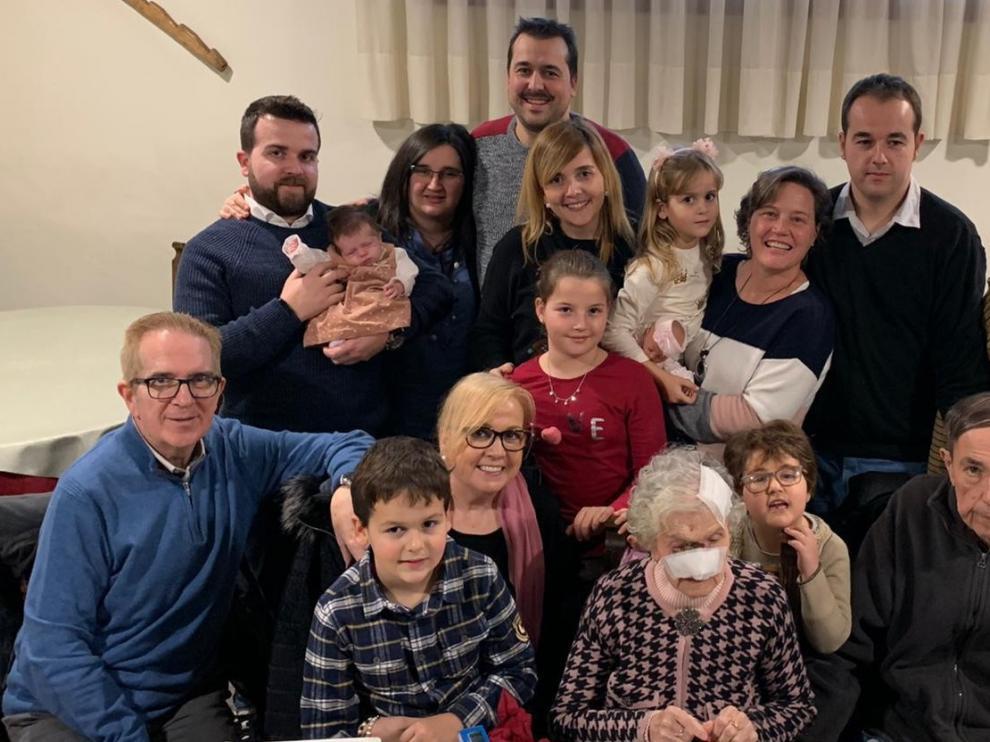 Balbina Bernaus celebra sus cien años en Graus