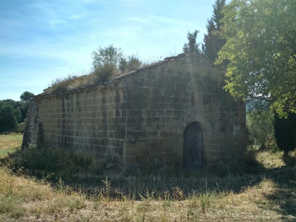 Ayerbe se vuelca para la ermita de Santa Lucía