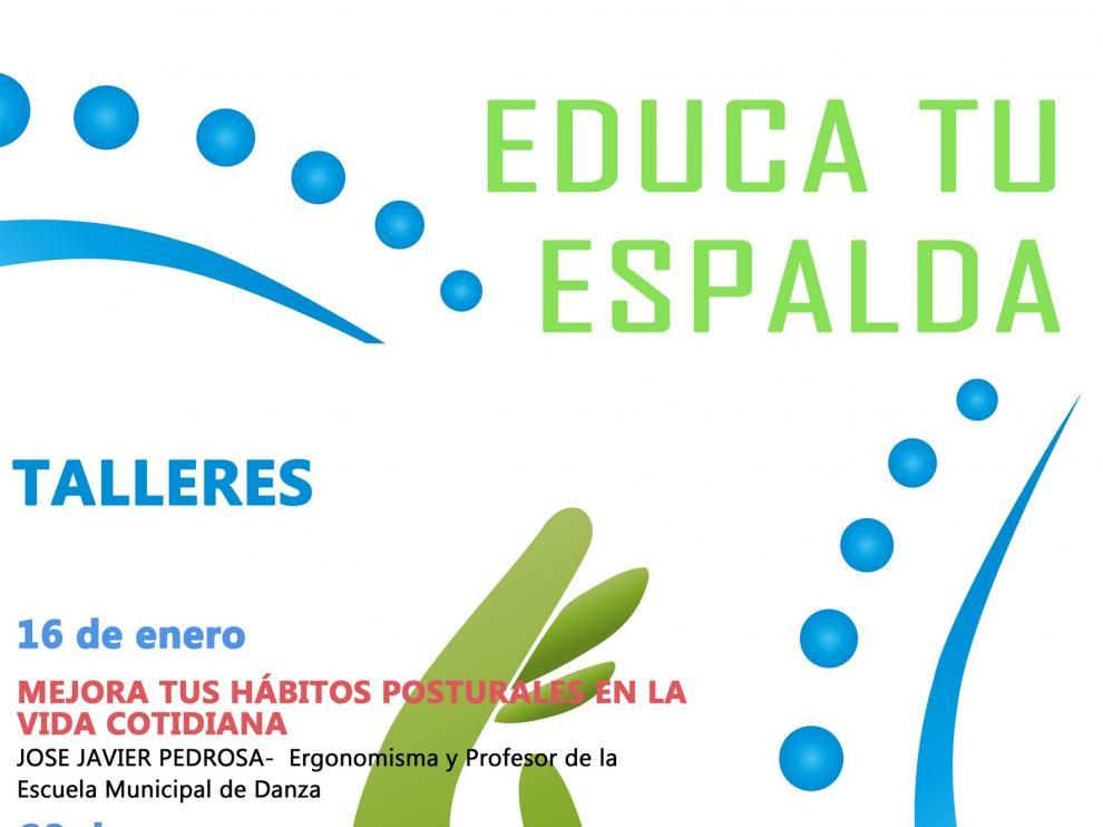La Concejalía de Educación organiza un taller gratuito sobre educación postural