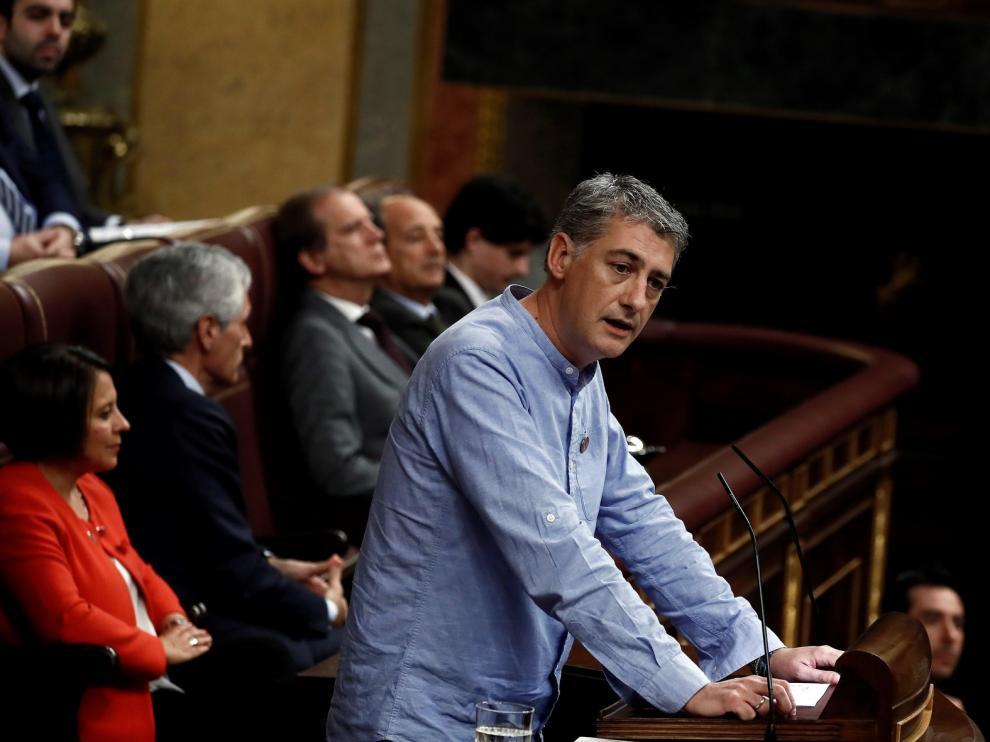"""Bildu advierte que el objetivo de su formación es """"la república vasca"""""""