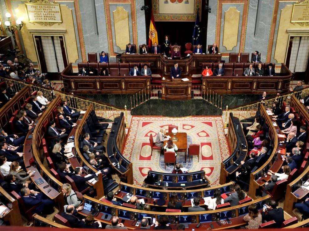 Pedro Sánchez, investido presidente del Gobierno con 167 votos a favor y 165 en contra