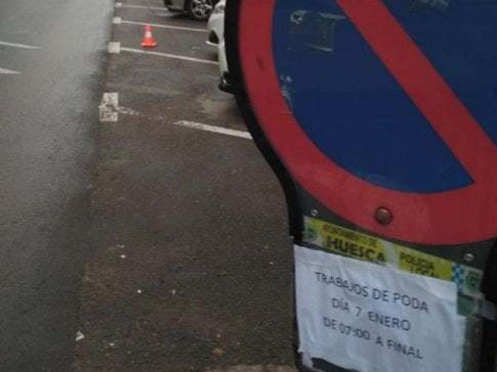 El Ayuntamiento de Huesca pide que se respeten las señales