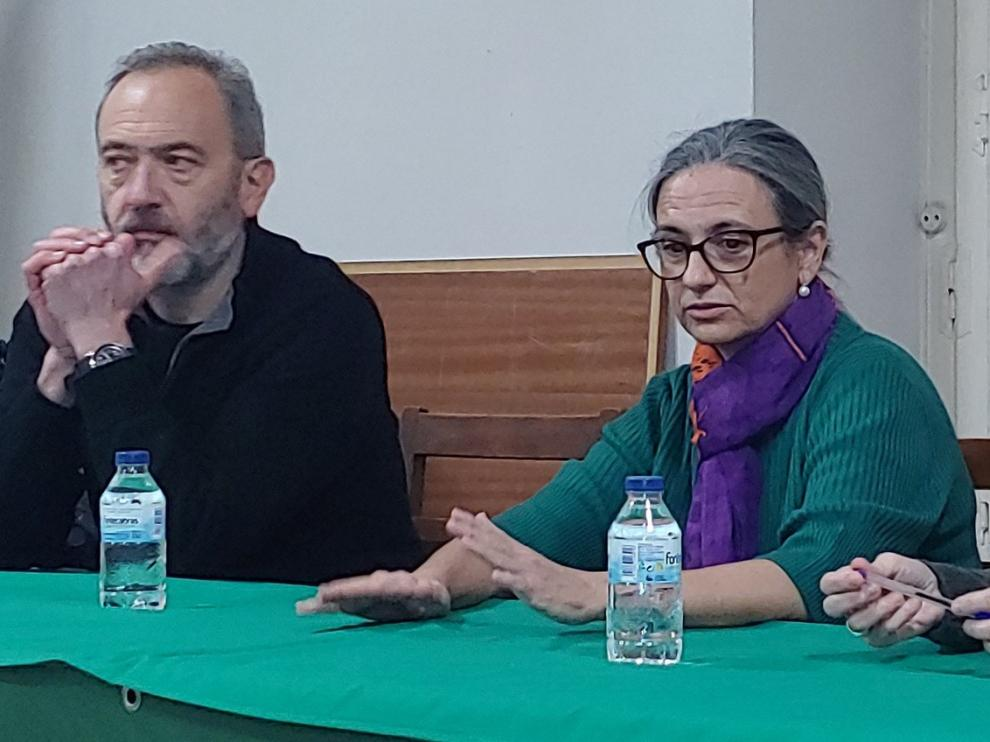 """Lourdes Aso presenta en Jaca """"Berto, el pensamiento y el resto"""""""