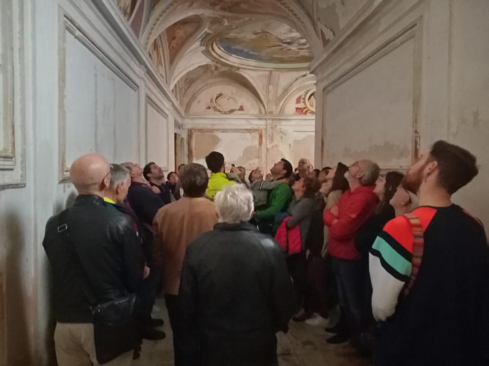 Suspendidas las visitas y actividades culturales organizadas por la Diputación Provincial de Huesca