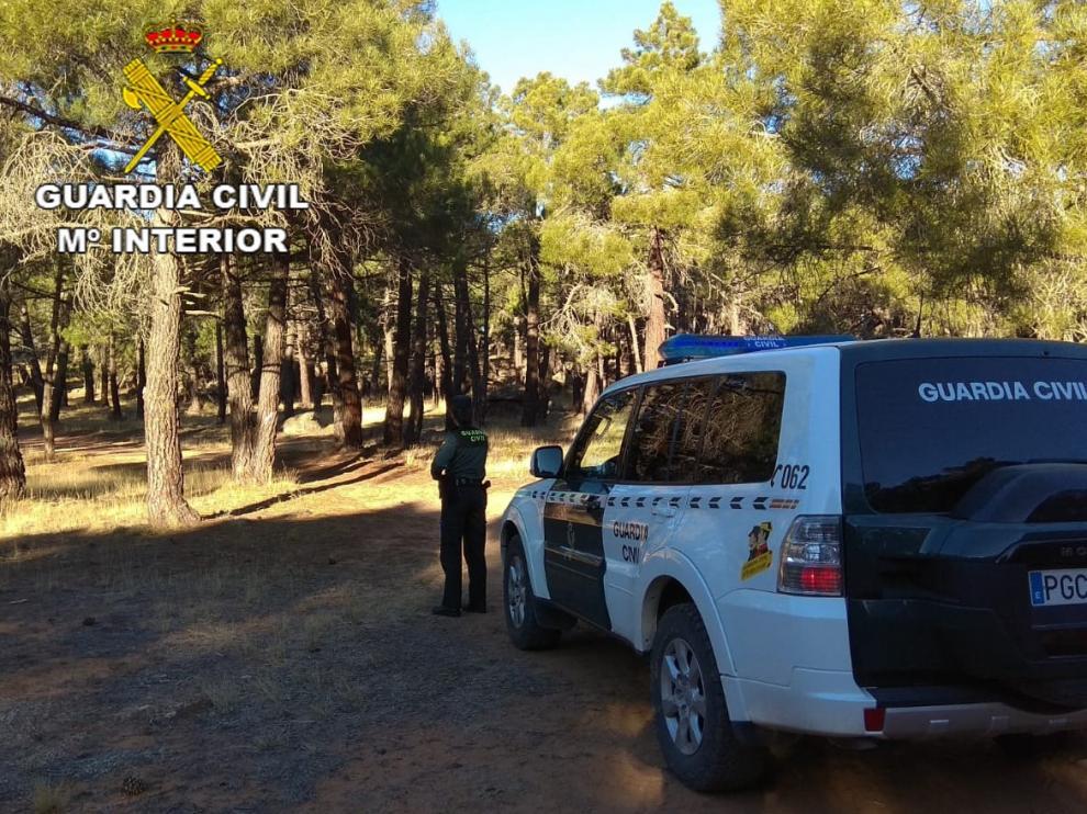 Auxiliados dos escaladores extraviados en Albarracín