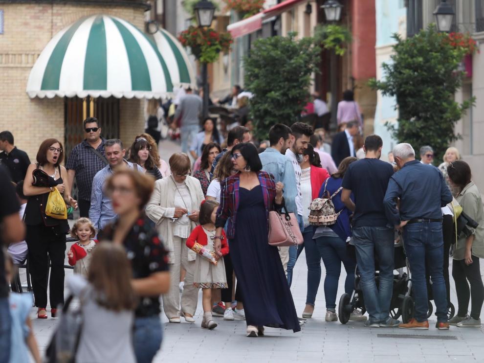 La población en el Alto Aragón crece por el empuje de los inmigrantes