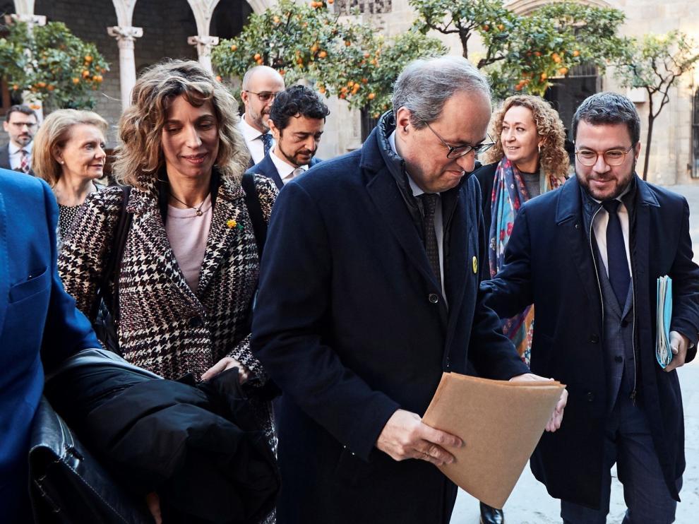 """Torra pide al TS que frene la """"persecución política"""""""