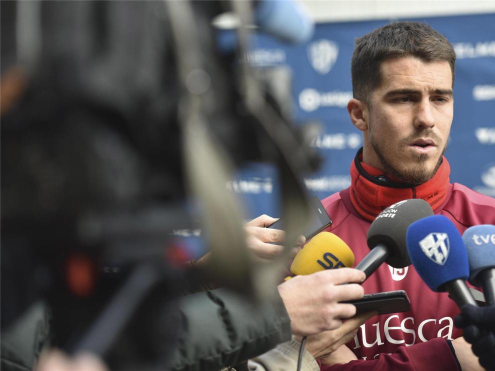 """Rubén Yáñez, en """"modo Copa"""" con el Huesca: """"Hay que estar alerta"""""""
