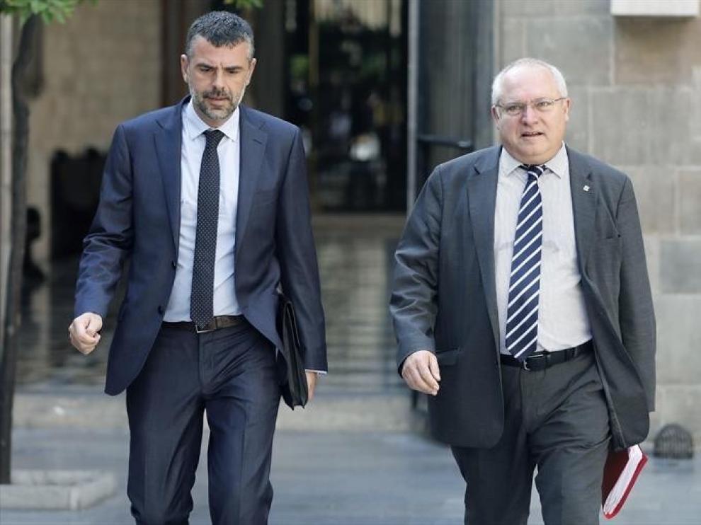 El juez mantiene las fianzas de 216.000 euros a Vila y 88.000 a Puig por el caso Sijena