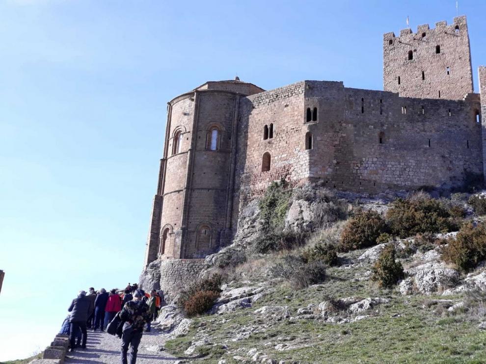 El Castillo de Loarre alcanza su máximo anual con más de 110.000 visitas