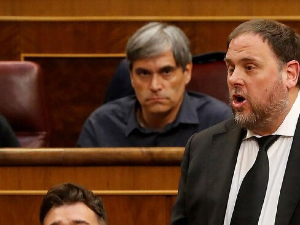 La familia de Junqueras presenta un habeas corpus al juez para pedir su libertad