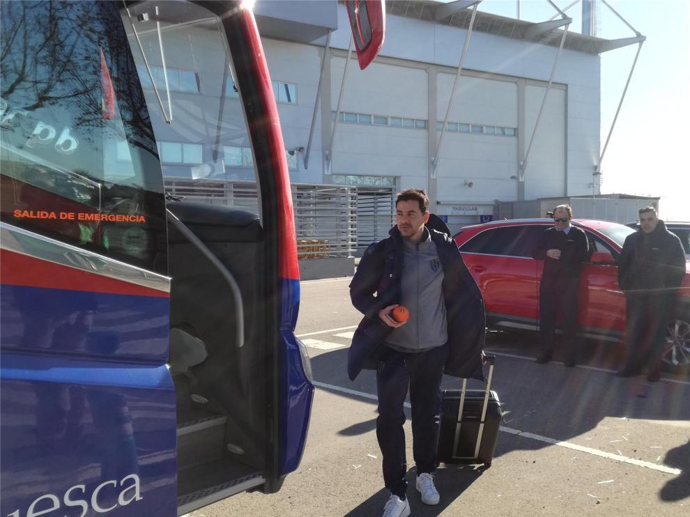 Míchel se toma muy en serio la Copa que medirá al Huesca con la Cultural Leonesa