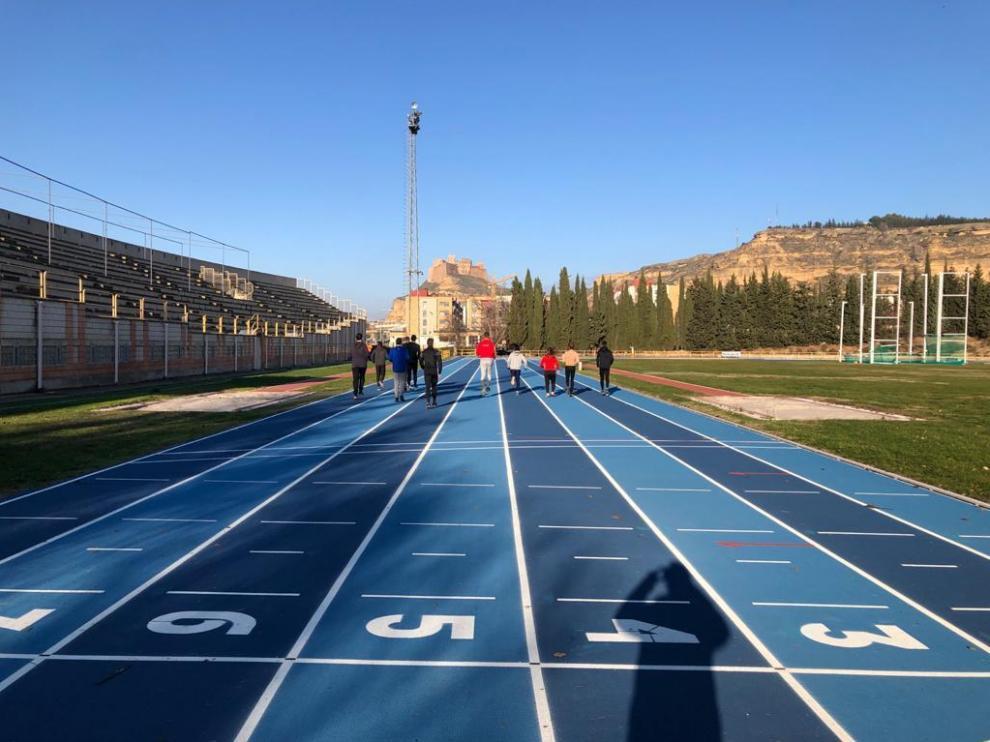 Los atletas de Monzón vuelven a la pista