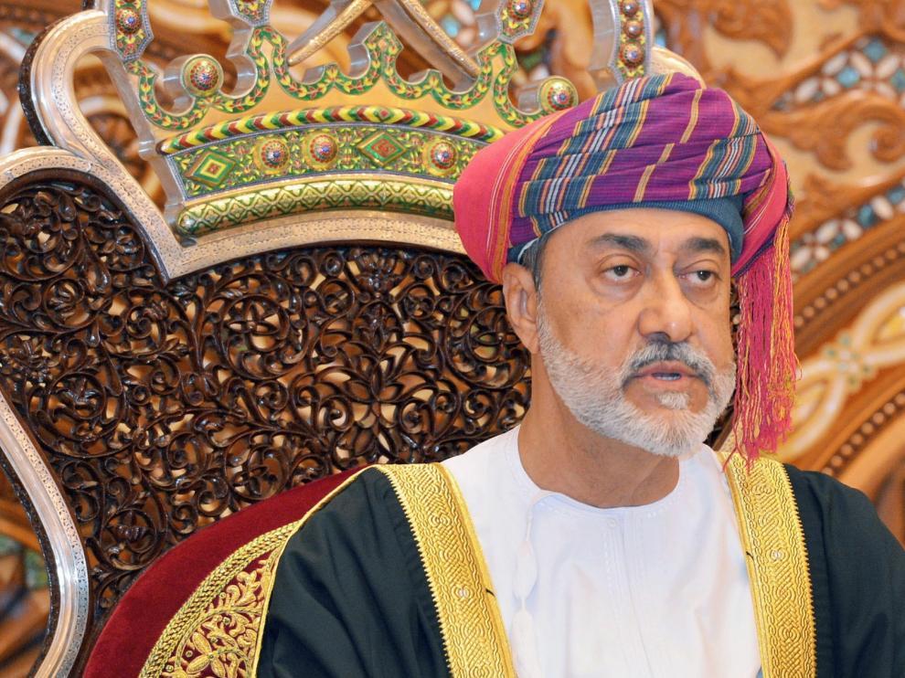 Haitham bin Tareq al Said, sultán de Omán