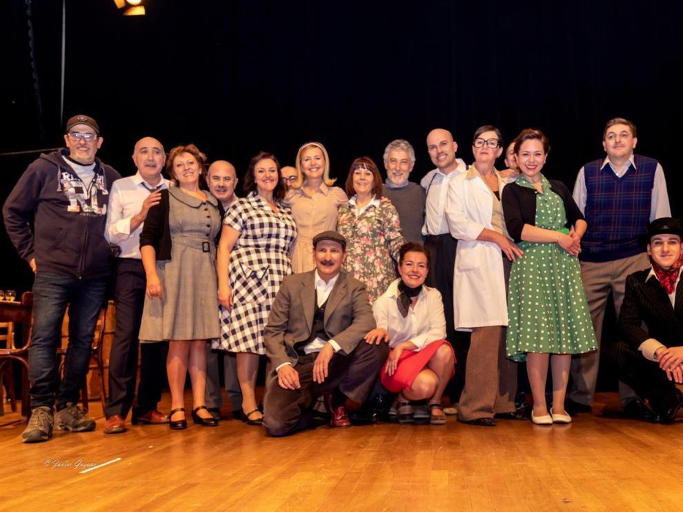 Oroel Teatro rinde homenaje a los cómicos de la posguerra