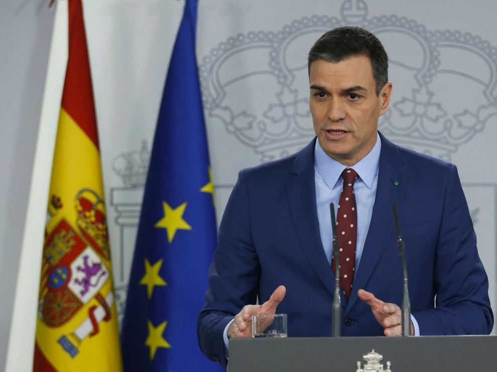 """Sánchez promete unidad en la coalición: """"Tendrá varias voces pero una misma palabra"""""""