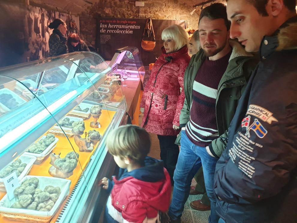 El Mercado de la Trufa en Fresco de Graus se da conocer en Madrid