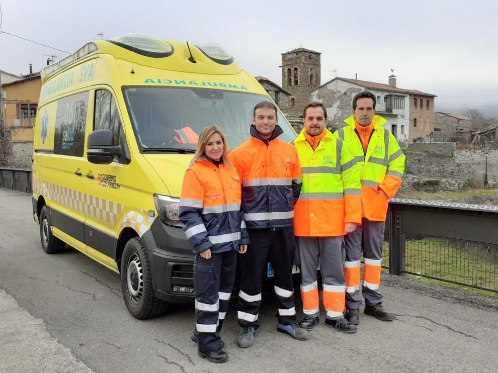 La UME de Foradada del Toscar ha atendido a 200 pacientes en un año
