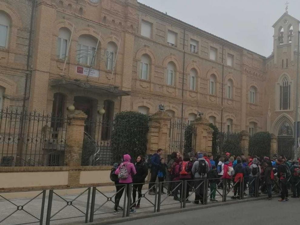 La preparación para la Javierada 2020 reúne a 225 personas en su primera ruta
