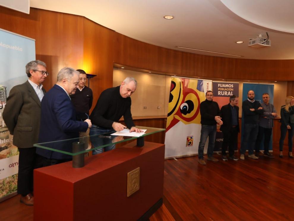Ocho pueblos de Alto Aragón, en un innovador proyecto para atraer talento al medio rural