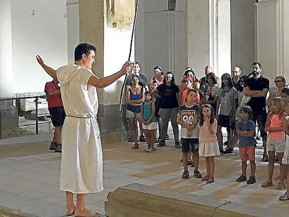 El Monasterio de San Victorián contará con visitas teatralizadas