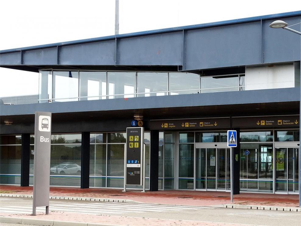 El aeropuerto Huesca Pirineos sufre la mayor caída de pasajeros