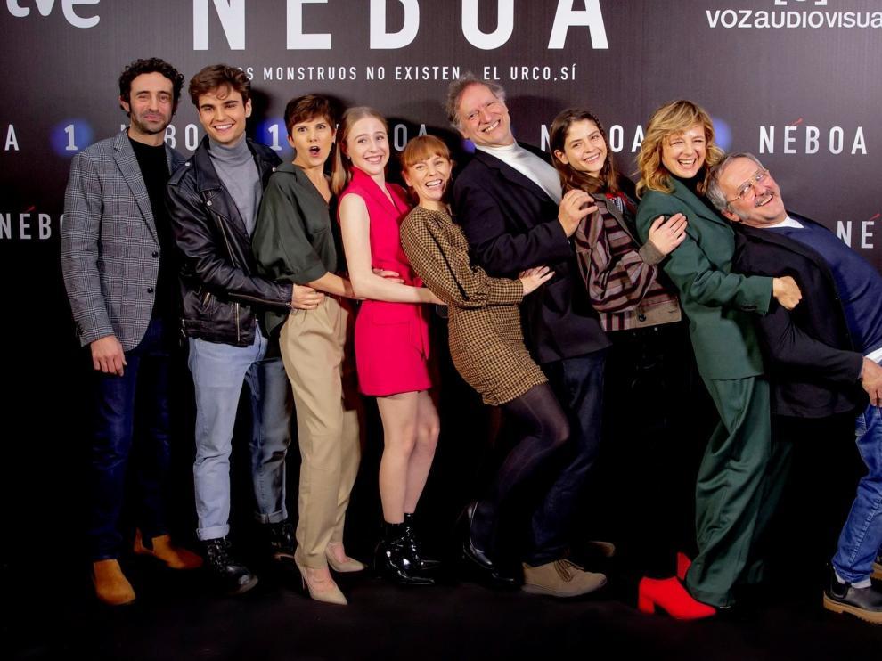 "Emma Suárez regresa a La 1 de TVE con la serie ""Néboa"""