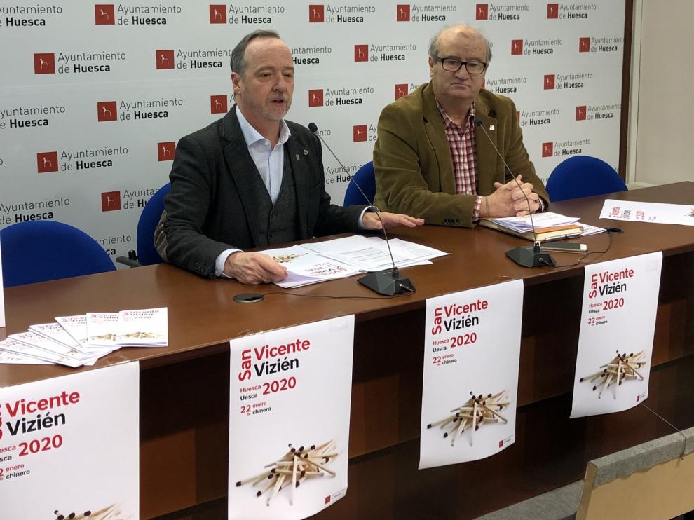 Huesca celebra San Vicente con medio centenar de actos