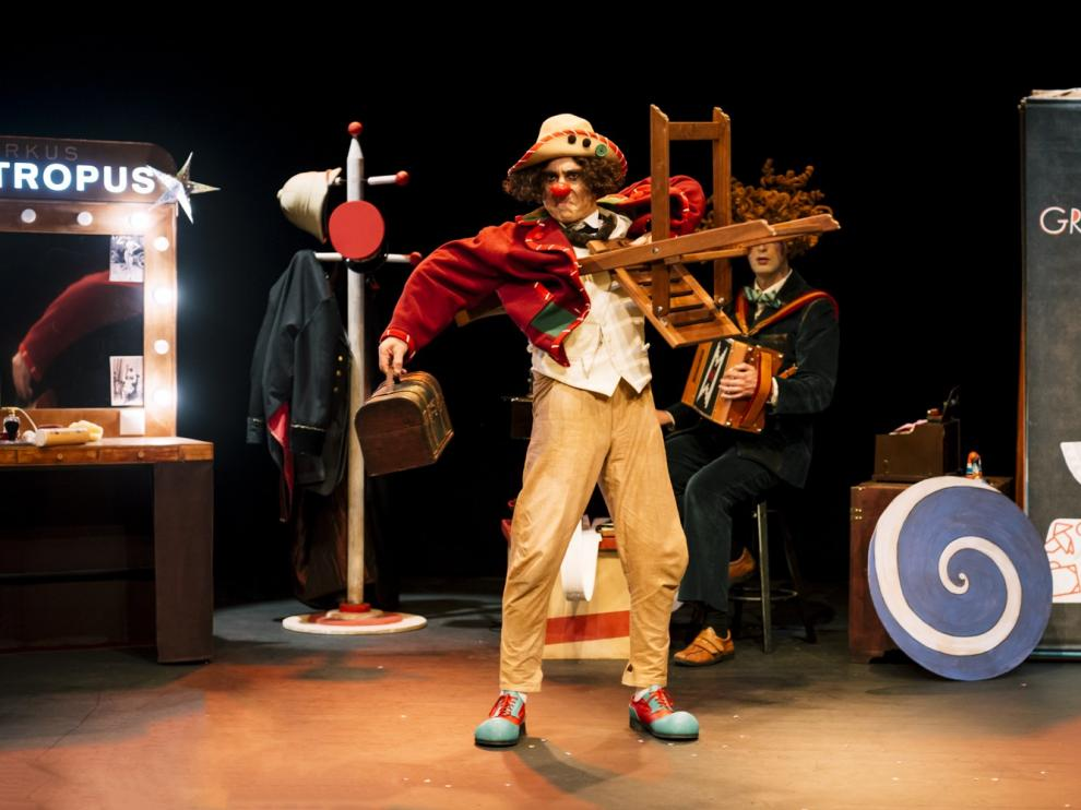 """Zoótropo Teatro abre la agenda cultural infantil de Monzón con """"Zootropus Cirkus"""""""