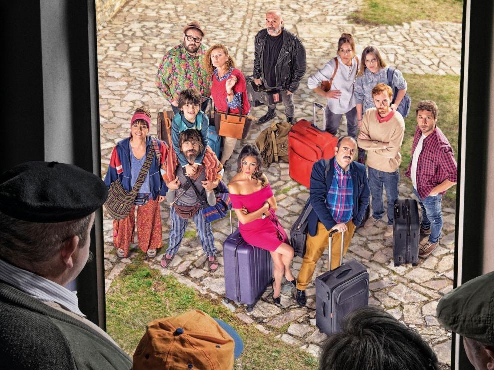 """""""El pueblo"""", una nueva comedia rural, arranca este miércoles en Telecinco"""
