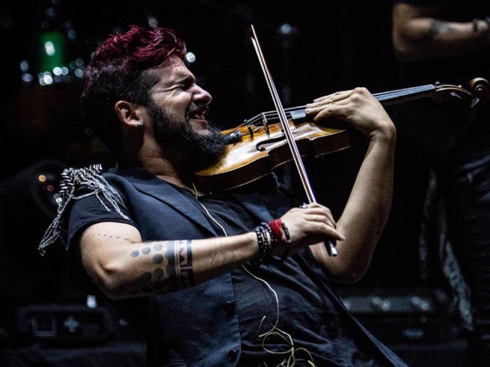 """Huesca recibirá al violinista """"rebelde"""" el 8 de febrero"""