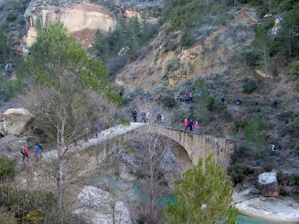 Andada entre el Somontano y la Hoya de Huesca