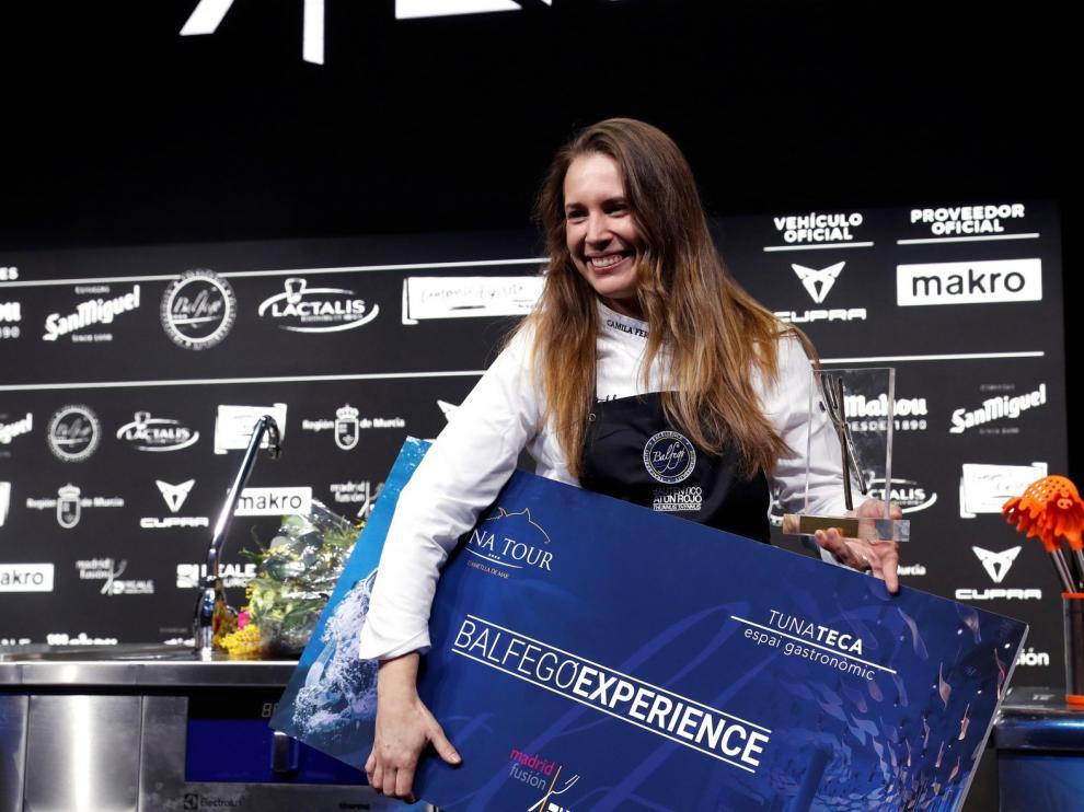 Camila Ferraro, primera mujer en obtener el Cocinero Revelación