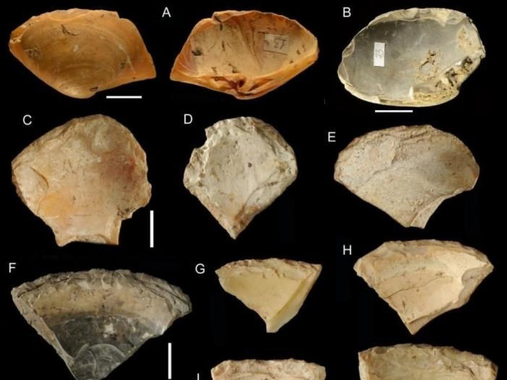 Los neandertales usaban conchas de almejas como herramientas
