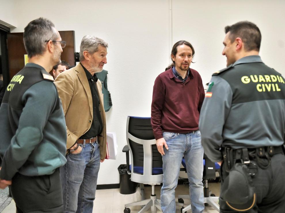 La Unión de Guardias Civiles pregunta por qué aumentó la seguridad de Pablo Iglesias