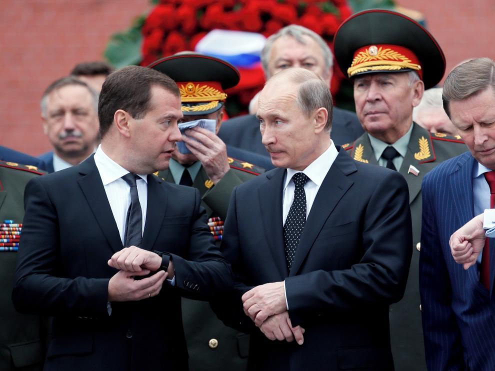El Gobierno ruso dimite en pleno tras anunciar Putin reformas políticas