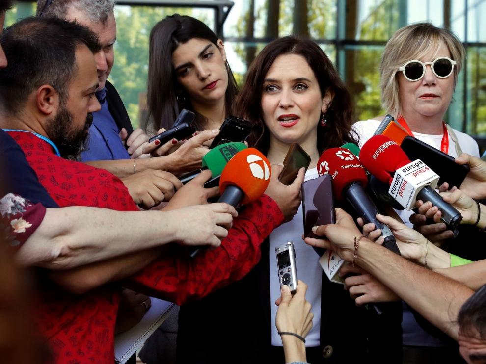 Ayuso avanza que Madrid hará todo lo que está en su mano para quedarse con el Mobile World Congress