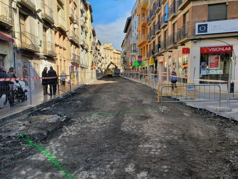 Barajan las calles Perena y Lanuza como mejor opción para desviar las procesiones de Semana Santa en Huesca