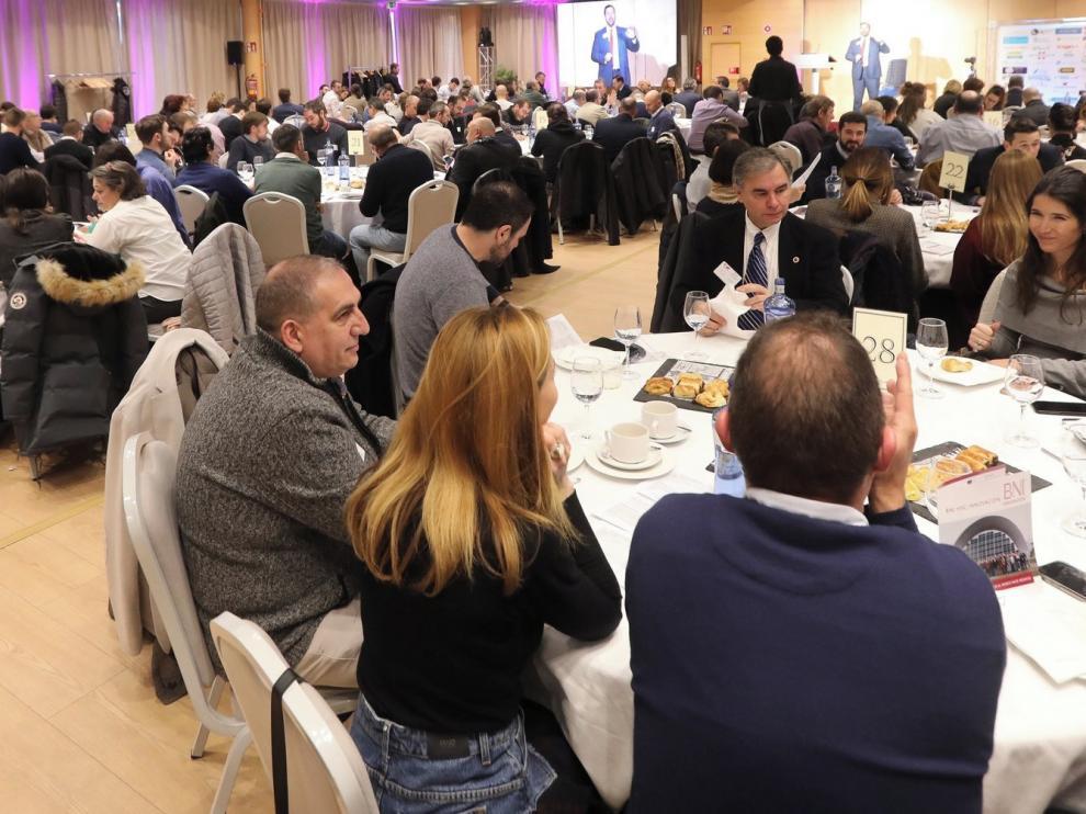 La organización de referencias BNI llega con fuerza a Huesca