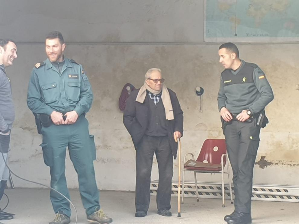 Localizan con vida al anciano desaparecido en Graus