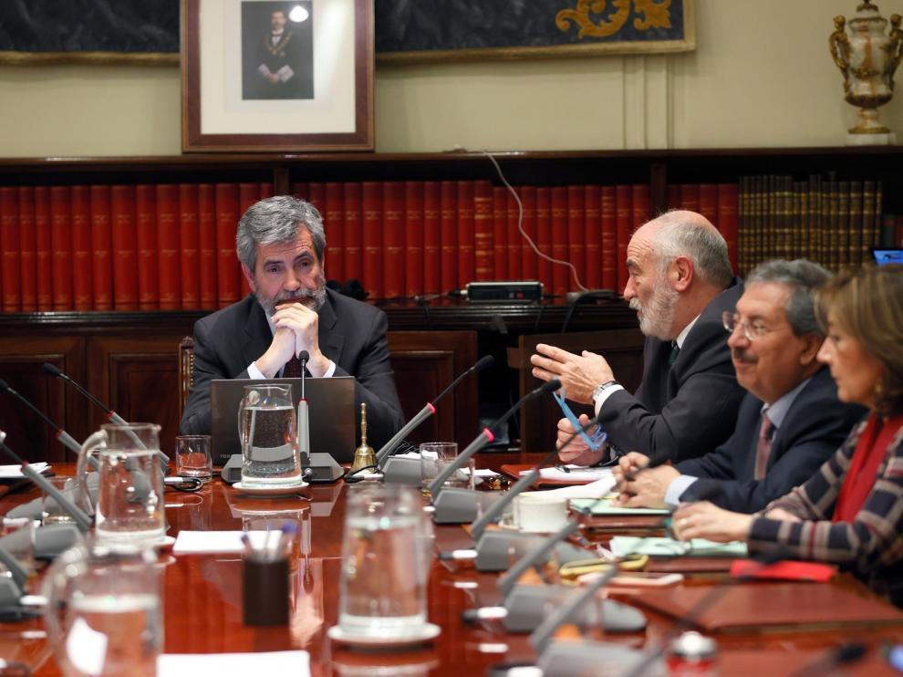 Un CGPJ dividido avala la candidatura de Delgado