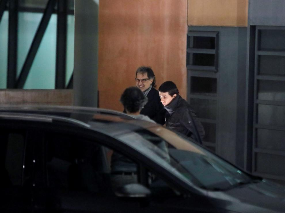 Primer permiso para Jordi Cuixart tras 822 días encarcelado