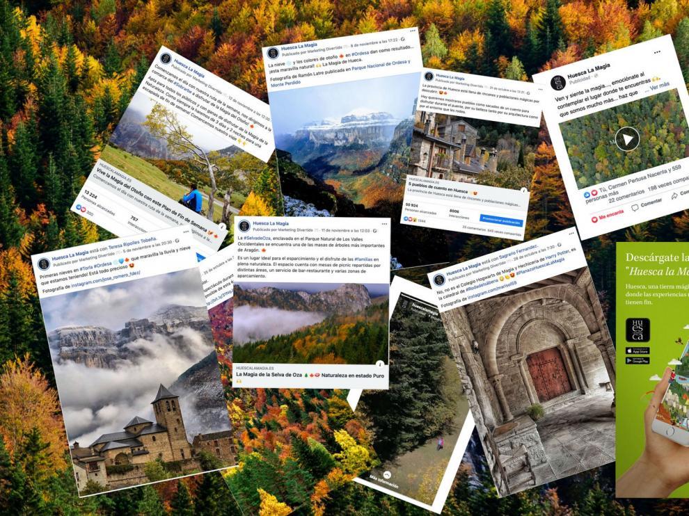 La campaña de otoño de TuHuesca llegó a un millón de usuarios