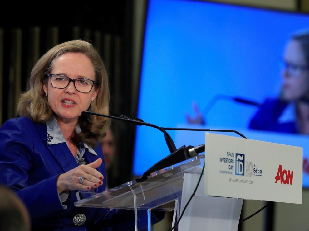 Calviño lleva los compromisos del nuevo Gobierno a Europa